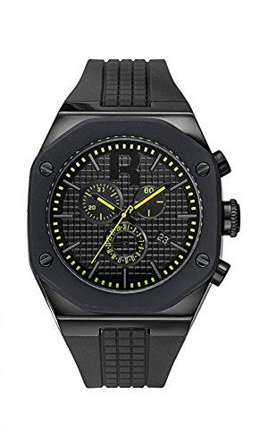 Reebok Armbanduhr rc swa g6 pbib by Swag Gent arrior schwarz lemon zest Zifferblatt Silikon WARRIOR schwarz