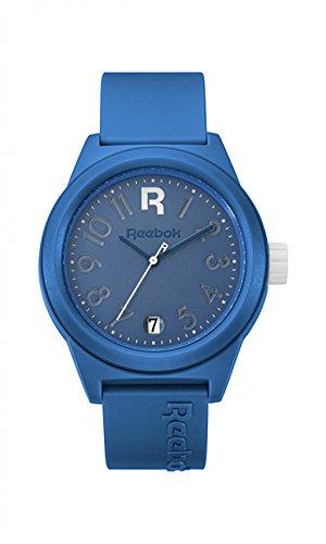 Reebok Armbanduhr rccshg3plpllw Classic R Shadow Classic blau weisse Zifferblatt PU Classic blau