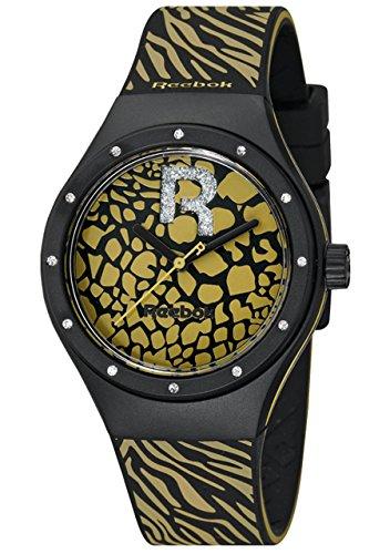 Reebok Damen Armbanduhr Icon Analog Quarz Silikon RC IRR L2 PBI2 B2