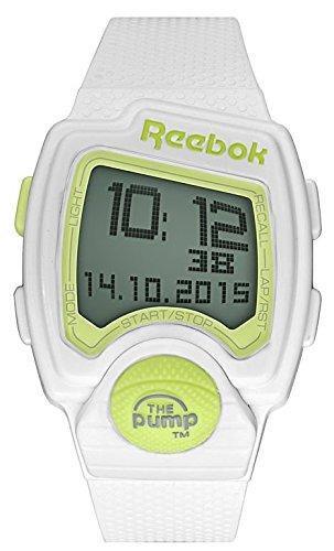 Reebok Pump PL weiss Digital Sport Armbanduhr