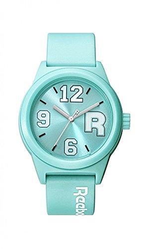 Reebok RC CRV L2 PKPK KW Unisex Kristall Blau Leder Crisp Weiss ZifferblattClassic R Varsity Watch