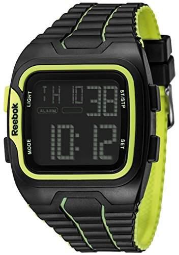 Reebok Workout Mens Armbanduhr Digital Quarz Silikon mehrfarbig, RF-WS1, G9-PBPB von