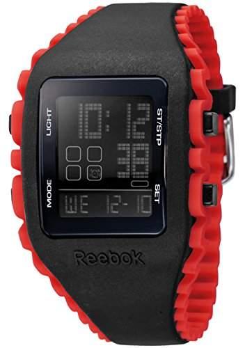 Reebok Herren-Armbanduhr Workout Digital Quarz Silikon RF-WZ1-G9-PBIR-BR