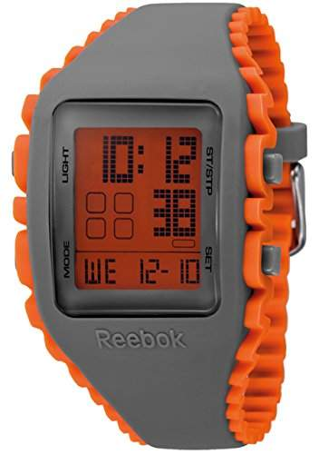 Reebok Workout Mens Armbanduhr Digital Quarz Silikon mehrfarbig, RF-WZ1, G9-PSIO-OVP
