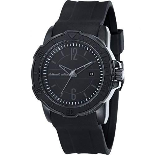 Black Dice Herren-Armbanduhr Vibe Analog Silikon Schwarz BD 065 02