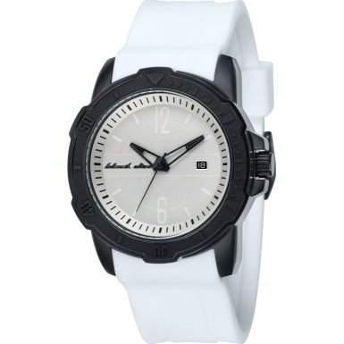 Black Dice Herren-Armbanduhr Vibe Analog Silikon Weiss BD 065 06