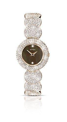 Seksy by Sekonda Elegance Rosevergoldete Damen Armbanduhr 4249