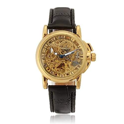 Damen Uhr Damenuhr Armbanduhren Mechanisch Uhr Skelettuhr Automatikuhr Gefragt