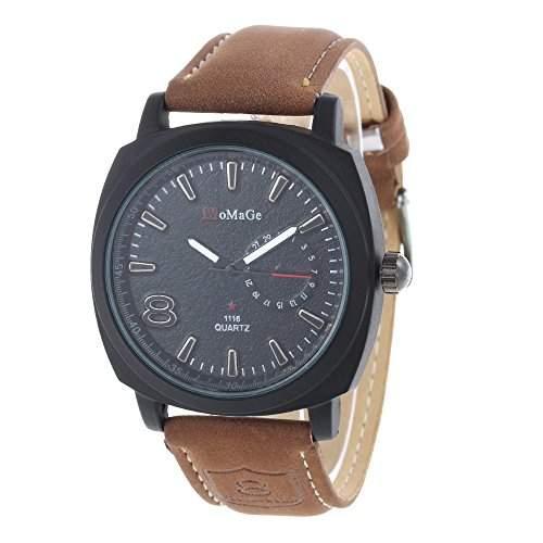 Herren Uhr Armbanduhr Herrenuhren Quarzuhren Watch Sport Nachtleuchtend Militaer
