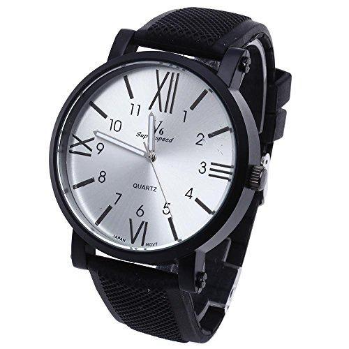 FACILLA Herrenarmbanduhr Armbanduhr Quarzuhren Sport Watch Silikon