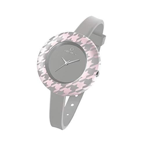 OPS Uhren OPS! PIED DE POULE Damen Uhrzeit Grau - opspw-160