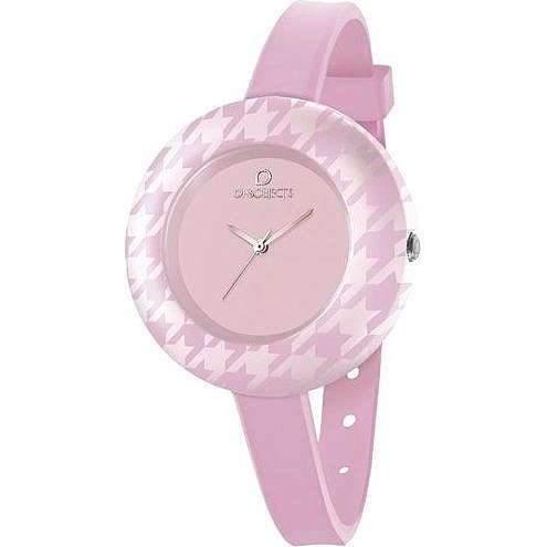 OPS Uhren OPS! PIED DE POULE Damen Uhrzeit Rosa - opspw-161