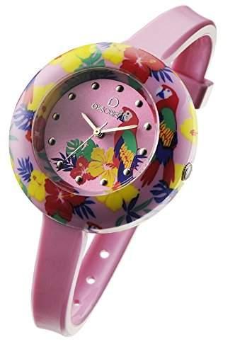 OPS Uhren TROPICAL Damen Uhrzeit Rosa - OPSPW-212