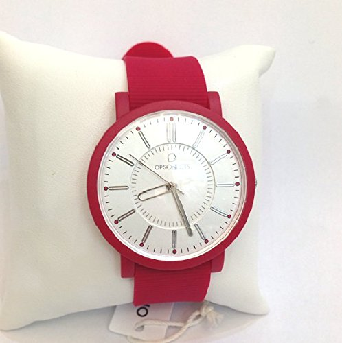 SCHICKE Vintage rot Silikon OPSPOSH OPS 11 Uhr
