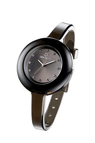 OPSOBJECTS OPS NUDE WATCHES Armbanduhr Uhrarmband Uhrband schwarz transparent silber