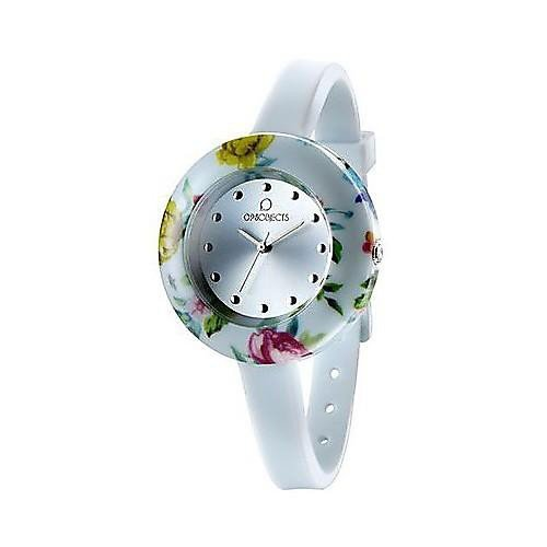 OPSOBJECTS OPS FLOWER WATCHES Armbanduhr Uhrarmband Uhrband rot pink gold