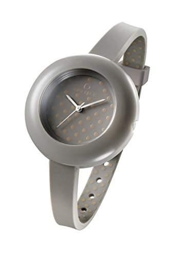 OPSOBJECTS · OPS!POIS WATCHES · Armbanduhr | Uhrarmband | Uhrband · grau braun silber