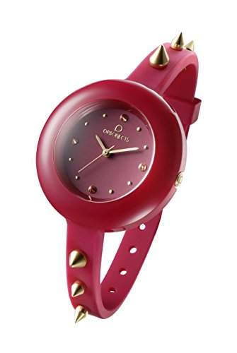 OPSOBJECTS · OPS!STUDS WATCHES · Armbanduhr | Uhrarmband | Uhrband · rot gold