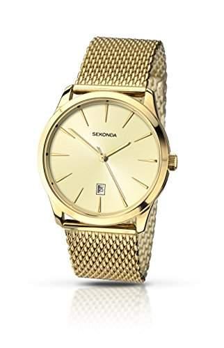 Sekonda Herren-Armbanduhr Analog Quarz 104327