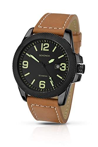Sekonda Herren-Armbanduhr Analog Quarz 106227