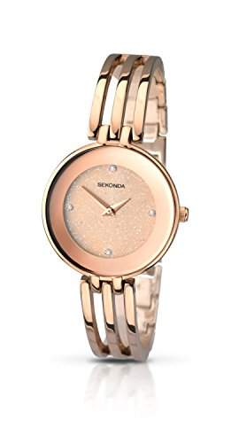 Sekonda Damen-Armbanduhr Analog Quarz 210827