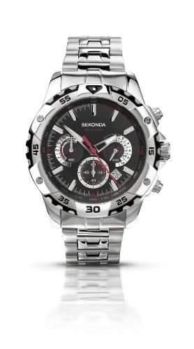 Sekonda Herren-Armbanduhr Analog Quarz 351027