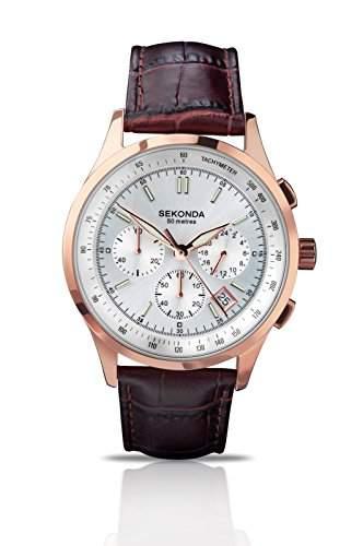Sekonda Herren-Armbanduhr Analog Quarz 384727