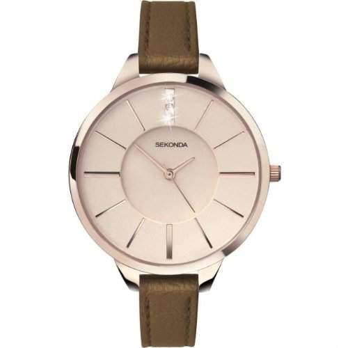 Sekonda Damen-Armbanduhr Analog Quarz 401827