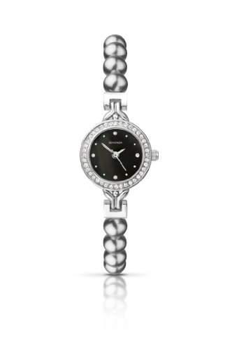 SEKONDA Damen-Armbanduhr Analog Sonstige Materialien Grau 421227