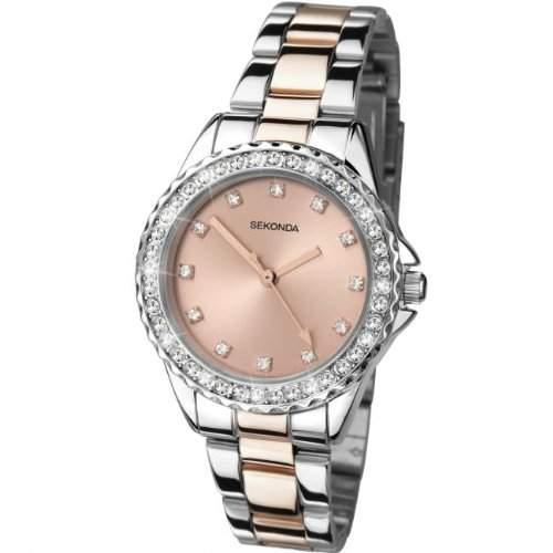 Sekonda Damen-Armbanduhr Analog Quarz 425427