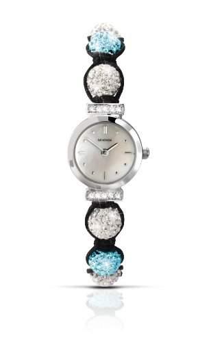 SEKONDA Damen Armbanduhr Analog Nylon blau 473327