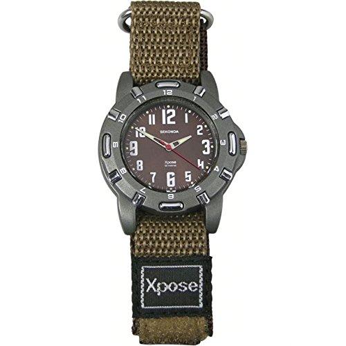 Herren Sekonda Xpose Armbanduhr Schutzschale 3895