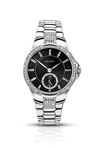 Sekonda Damen Armbanduhr Analog Sonstige Materialien Silber 2181 37