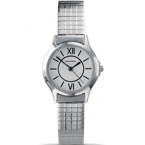 Sekonda Ladies stainless steel expandable bracelet watch 4021B
