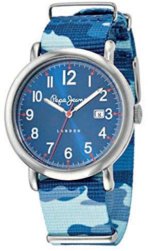 Pepe Jeans Uhr mit japanischen Quarz Bewegung Man Charlie 49 5 mm R2351105017 CAMOUFLAGE