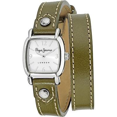 Pepe Jeans Uhr mit japanischen Quarz Bewegung Woman Gesicht 34 0 mm