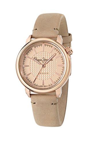 Pepe Jeans Damen Uhrenbeweger Collection SALLY Leder beige R2351117507