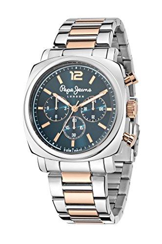 Pepe Jeans Herren Uhrenbeweger Collection HOWARD Edelstahl silber R2353111001
