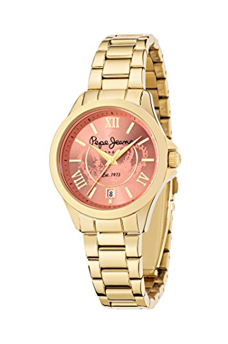 Pepe Jeans Damen Uhrenbeweger Collection KATY Edelstahl gold R2353114501