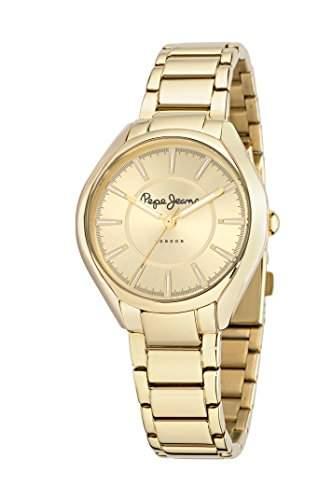 Pepe Jeans Damen-Armbanduhr ALICE Analog Quarz Leder R2351101501