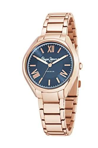 Pepe Jeans Damen-Armbanduhr ALICE Analog Quarz Leder R2351101504