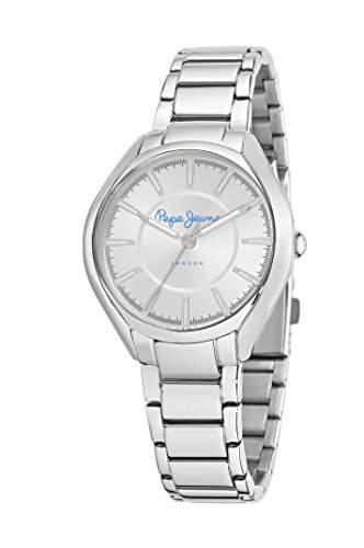 Pepe Jeans Damen-Armbanduhr CARRIE Analog Quarz Textil R2351102504