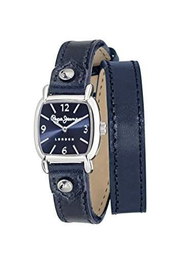 Pepe Jeans Damen-Armbanduhr BRIAN Analog Quarz Edelstahl R2353106004