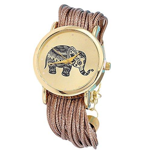 Elefant indisch keine Ziffern geflochtene Textilband gold braun