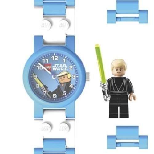 Lego Kinderuhr Star Wars Luke Skywalker 2907 STW LS