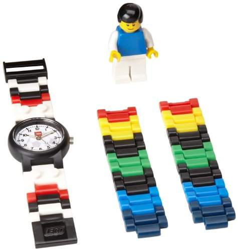 LEGO Fussball kinderarmbanduhr Analog Quarz 4193356