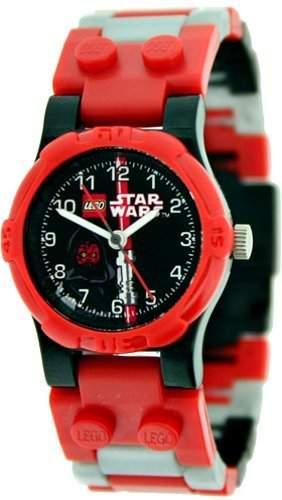 Lego Jungen-Armbanduhr Star Wars Dark Sidious Analog Kunststoff mehrfarbig 740410