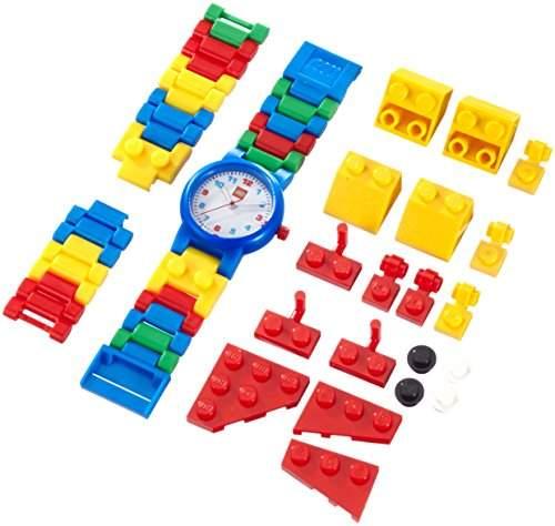 Lego Jungen-Armbanduhr Creator Analog Kunststoff mehrfarbig 740415