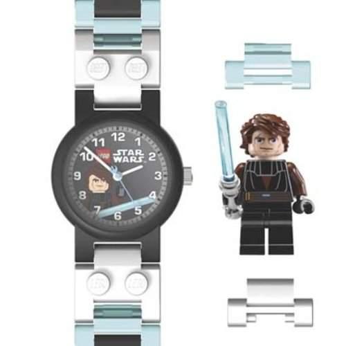 Lego Jungen-Armbanduhr Star Wars Anakin Analog Kunststoff mehrfarbig 740421
