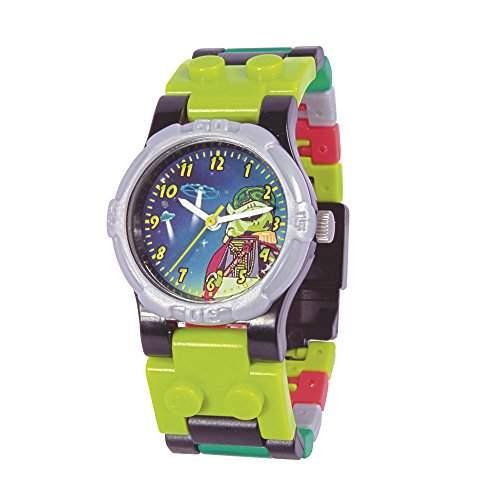 "LEGO Kinder-Armbanduhr Montre LEGO Enfant ""Alien Conquest"" Analog Quarz Mehrfarbig 740440"